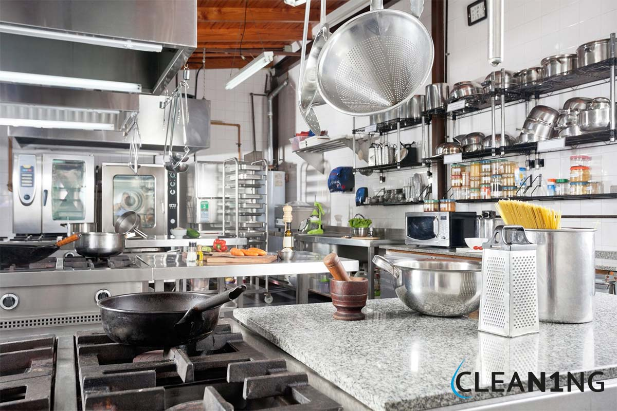 Étterem takarítás