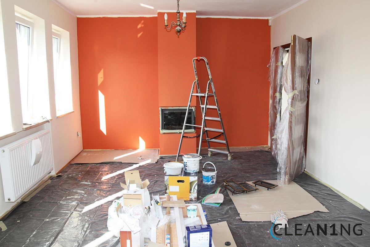Felújítás utáni takarítás